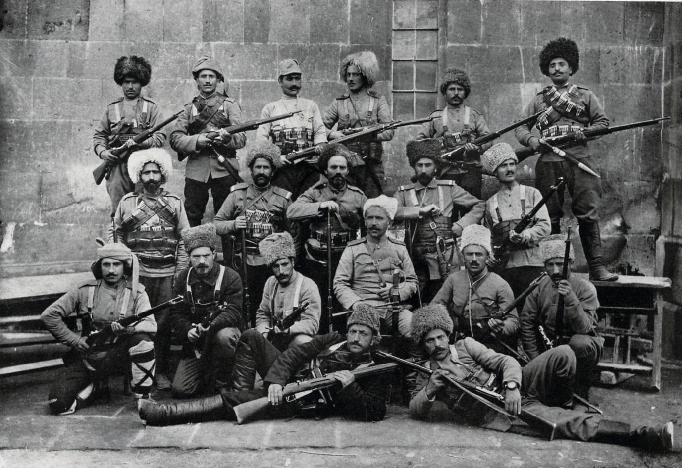 İsyancı Ermeni Çetecileri