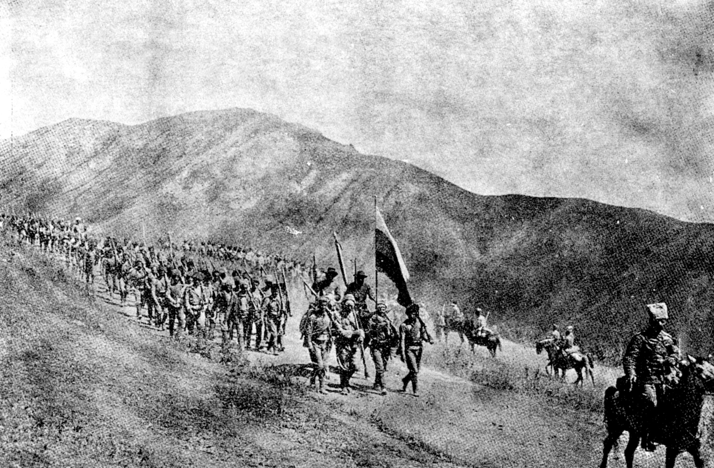 Armenian rebels slaughtered myriads of Turkish and Kurdish Ottoman citizens in East Anatolia.
