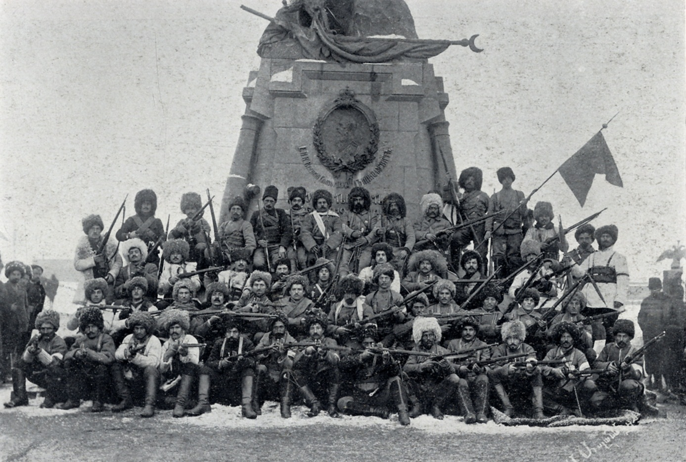 armenian-troop-terror-after-russian-occupation-in-kars