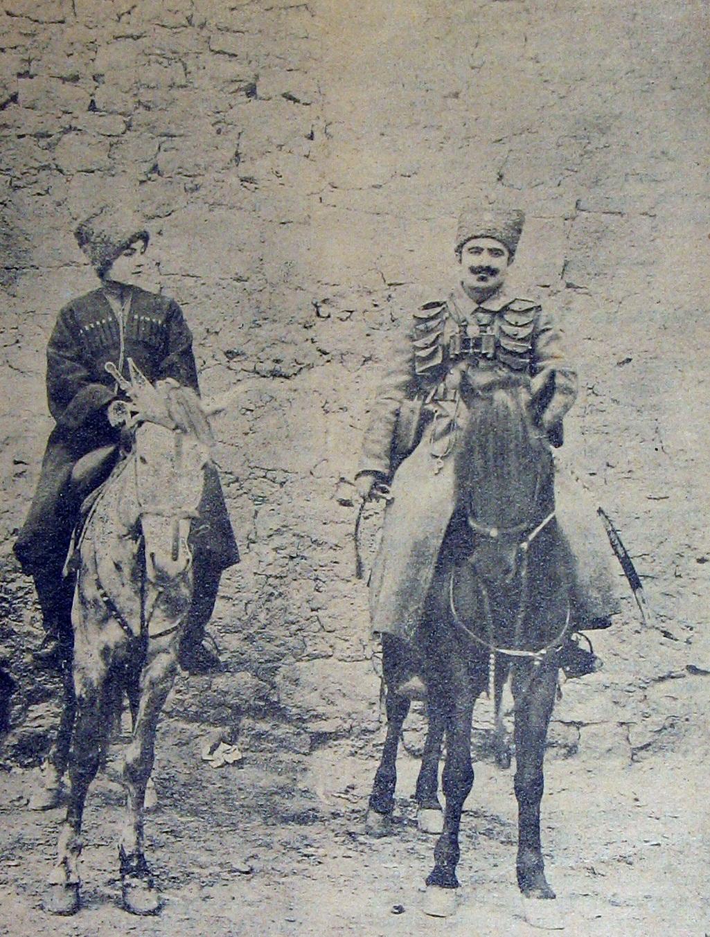 Armenischer Aufständischer